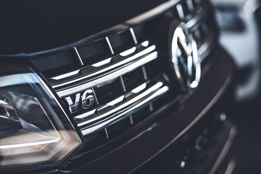 Uuden Volkswagen Amarokin keula